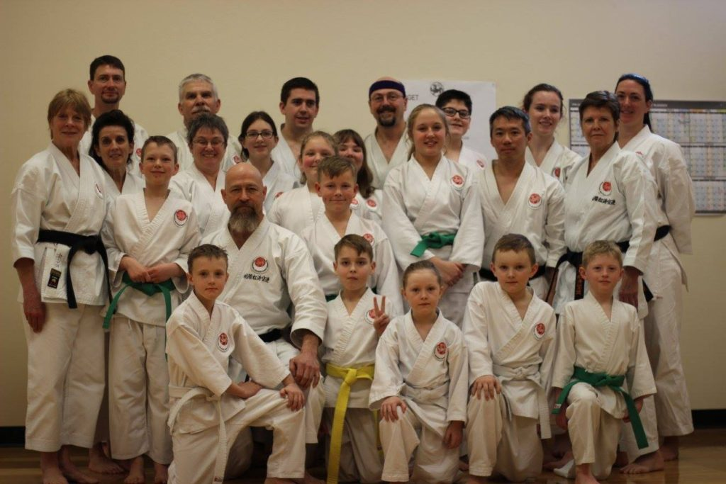 Group photo after grading